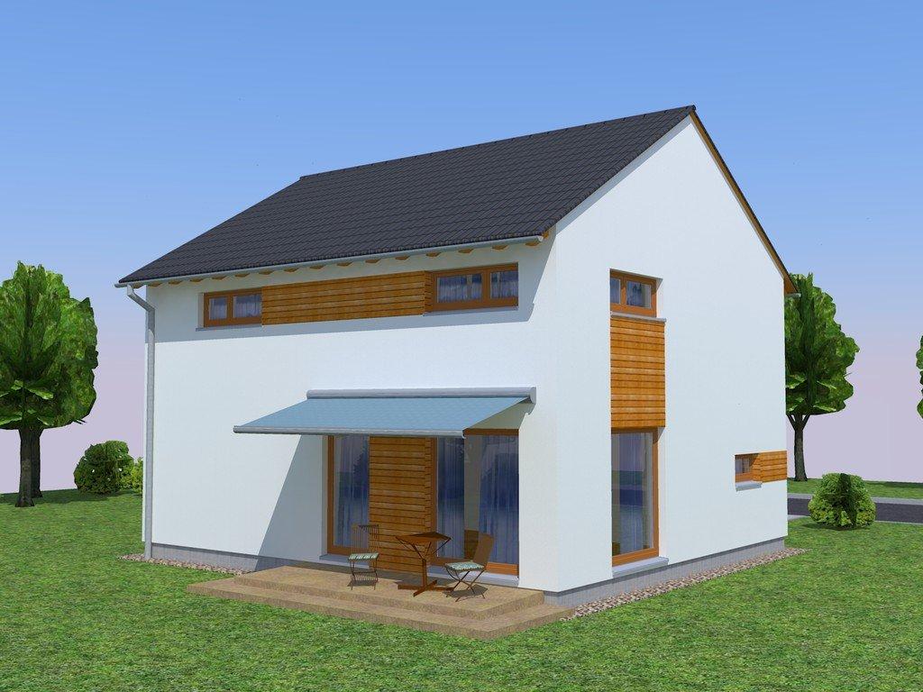 das neue energiesparende haus kubis 77 spart w hrend sie bequem wohnen. Black Bedroom Furniture Sets. Home Design Ideas